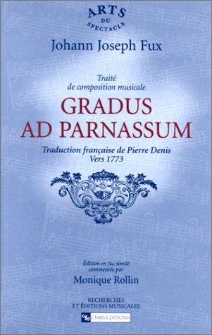 Gradus Ad Parnassum by Johann Joseph Fux