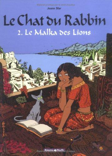 Le Malka des Lions (Le chat du Rabbin, #2)