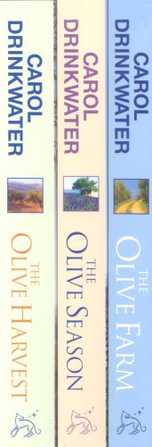 Carol Drinkwater 3 titles Shrinkwrapped : The Olive Farm, the Olive Harvest, the Olive Season Download PDF ebooks