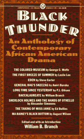 Black Thunder: An Anthology of African-American Drama