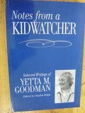 Notes from a Kidwatcher