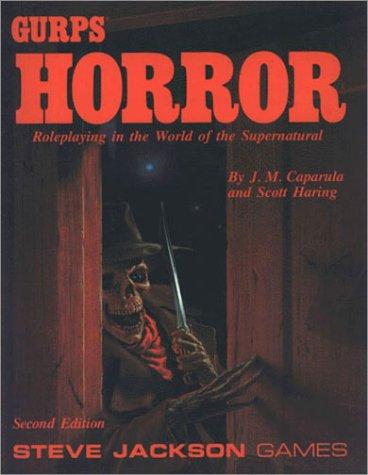 GURPS Horror by J.M. Caparula