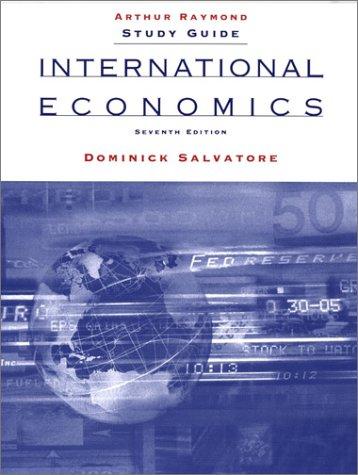 International Economics, Study Guide