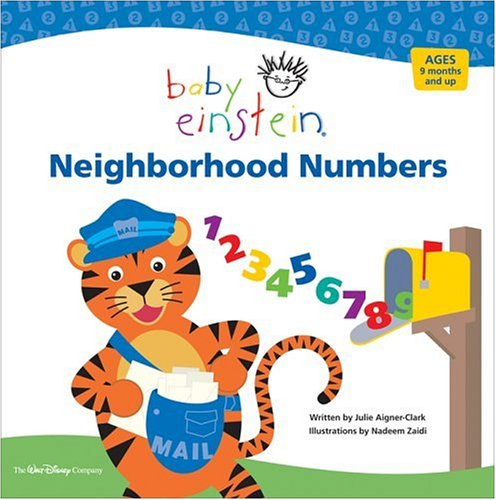 Neighborhood Numbers by Julie Aigner-Clark