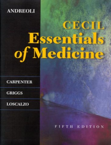 Andreoli and carpenters cecil essentials of medicine with access andreoli and carpenters cecil essentials of medicine with access code by thomas e andreoli fandeluxe Gallery