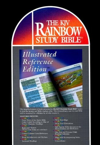 Rainbow Study Bible-KJV-Illustrated