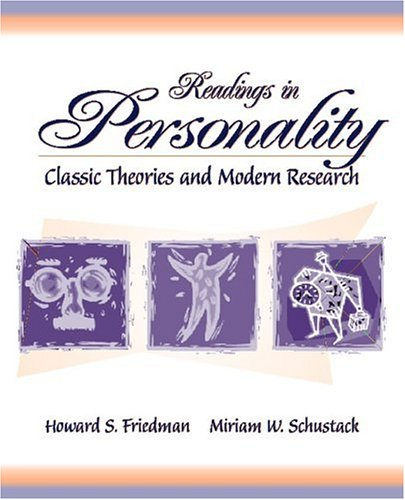 Readings in personality classic theories and modern research by readings in personality classic theories and modern research fandeluxe Gallery