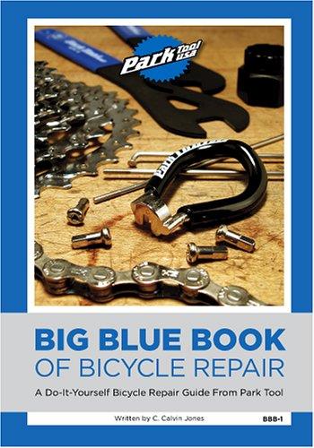 Big blue book of bicycle repair by c calvin jones 553603 solutioingenieria Choice Image