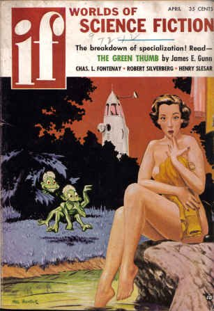 IF Worlds of Science Fiction, 1957 April (Volume 7, No. 3)