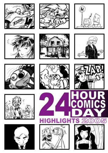 24 Hour Comics Day Highlights 2005 by Nat Gertler