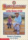 Karen's Cowboy (Baby-Sitters Little Sister, #122)