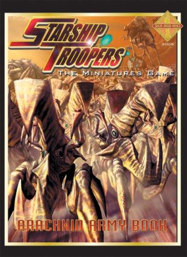 Arachnid Army Book (Starship Troopers) by Matthew Sprange