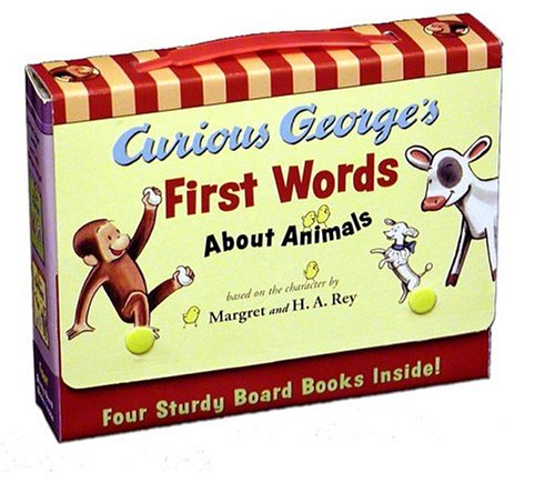 Curious George's First Words About Animals