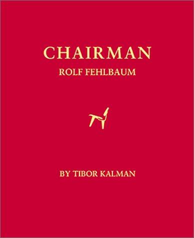 Chairman Rolf Fehlbaum by Tibor Kalman