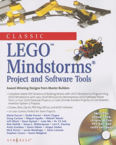 classic-lego-mindstorms-projects-and-software-tools-award-winning-designs-from-master-builders-with-cd-rom