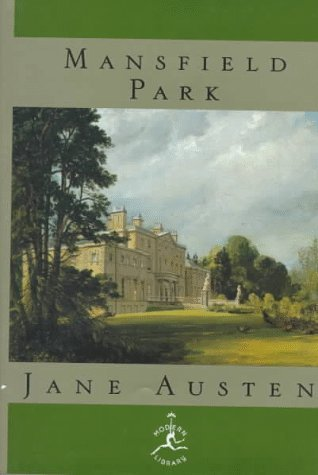 Mansfield Park (Modern Library of the World's Best Books)