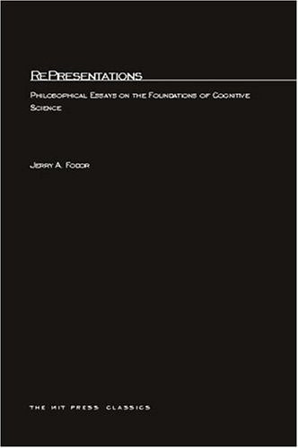 representations philosophical essays on the foundations of  616816