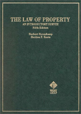 The Law of Property: An Introduction Survey Hornbook
