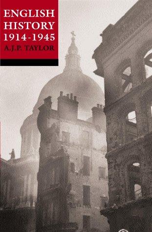 English History 1914-45 (History of England)