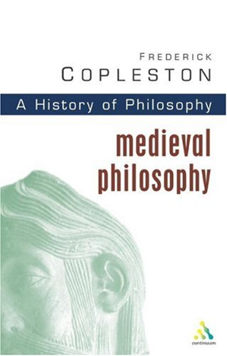 A History Of Philosophy Volume 2 Medieval Philosophy From