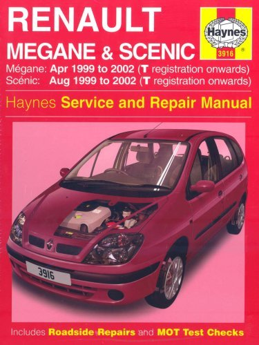 Renault Megane And Scenic (99 02) Service And Repair Manual (Haynes Service & Repair Manual Series)