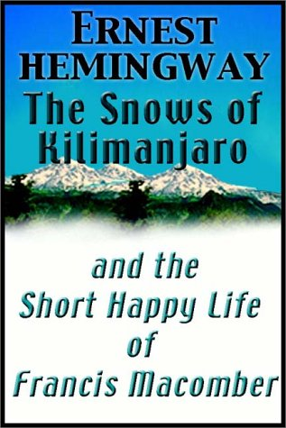 the life portrayal of francis macomber Dickens's portrayal of nancy illustrates the power of the dual conception of womanhood held  the snows of kilimanjaro and the short happy life of francis macomber.