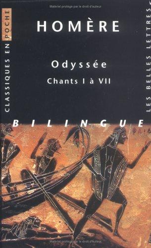 Odyssée. Chants I à VII; Tome 1