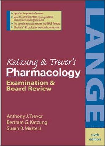 Katzungs pharmacology examination and board review by anthony j katzungs pharmacology examination and board review by anthony j trevor fandeluxe Images