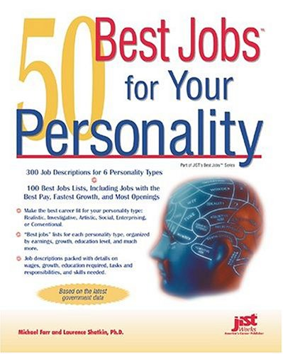 50 Best Jobs for Your Personality by Michael Farr