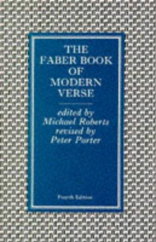 The Faber Book of Modern Verse