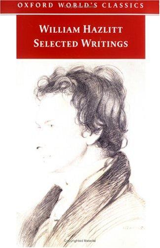 selected writings by william hazlitt 674485