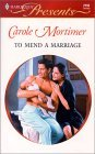 To Mend a Marriage by Carole Mortimer