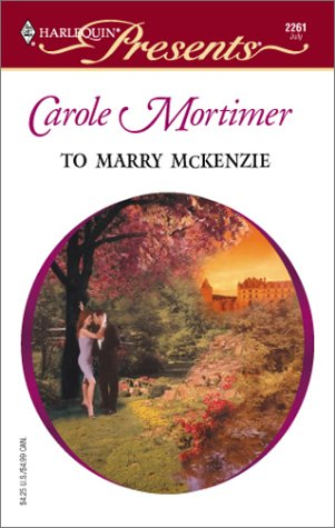 To Marry McKenzie (Bachelor Cousins #1)