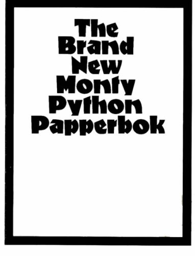 The Brand New Monty Python Papperbok by Graham Chapman