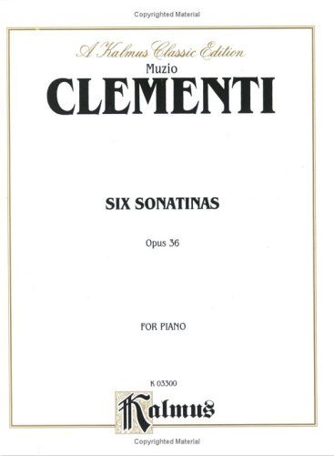 Clementi 6 Sonatinas (Op.36)