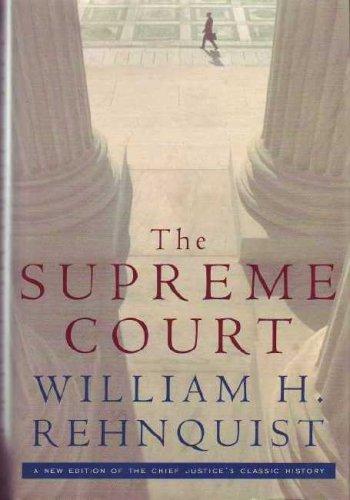 the supreme court rehnquist william h