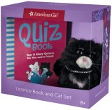 Licorice Book and Plush Package [With Plush Cat]