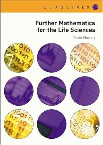 Further Mathematics For Life Sciences