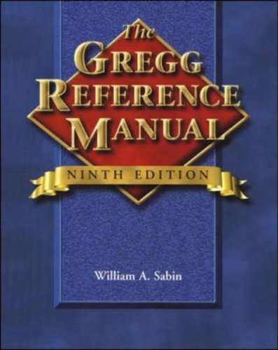 the gregg reference manual by william a sabin rh goodreads com Understanding Women Manual Gregg Style Guide