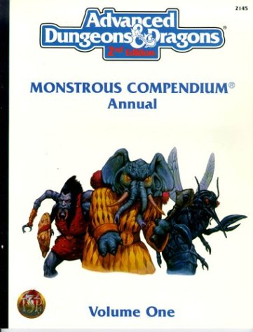 Monstrous Compendium Annual, Vol. 1 (Advanced Dungeons & Dragons, Accessory/2145
