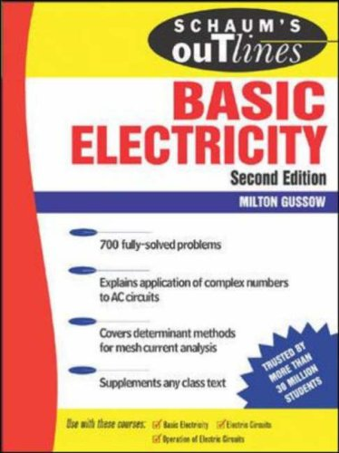 Schaum's Outline of Basic Electricity by Milton Gussow — Reviews ...