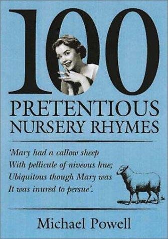 Descarga gratuita de libros electrónicos de Google books 100 Pretentious Nursery Rhymes