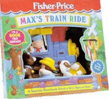 Max's Train Ride (Fisher-Price Squeaky Shape Play Books)