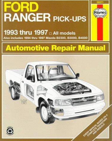 Ford Ranger & Mazda B-Series Pick-Ups Automotive Repair Manual