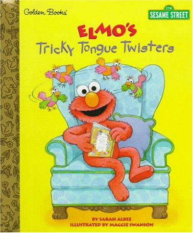 Elmo's Tricky Tongue Twisters (Little Golden Storybooks)