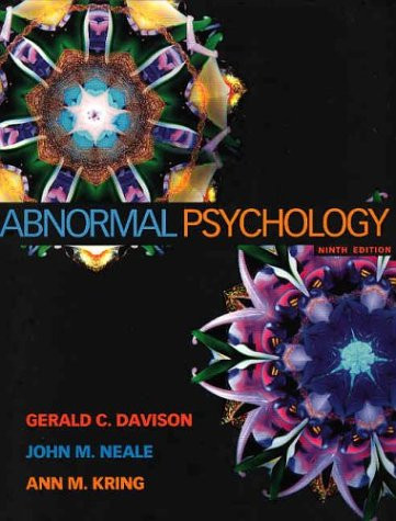 abnormal psychology by gerald c davison 773019