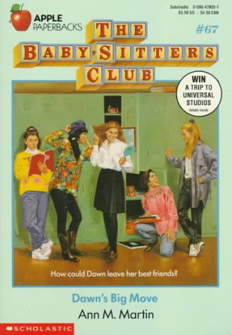 Dawn's Big Move (The Baby-Sitters Club, #67)
