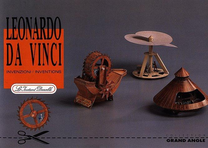 Inventions Of Leonardo Da Vinci: Scale Architectual Paper Model