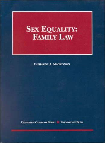 Sex Equality: Family Law