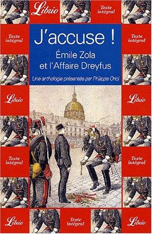 J'accuse ! Émile Zola et l'affaire dreyfus